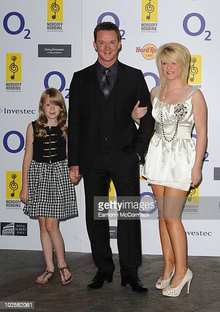 Russell Watson attends the 02 Silver Clef Awards at London Hilton on July 2 2010 in London England