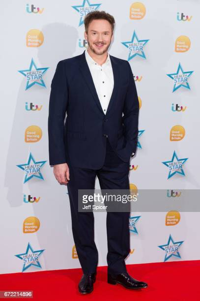 Russell Watson attends the Good Morning Britain Health Star Awards at the Rosewood Hotel on April 24 2017 in London United Kingdom