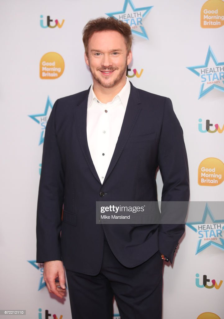 Russell Watson attends the Good Morning Britain Health Star Awards on April 24, 2017 in London, United Kingdom.