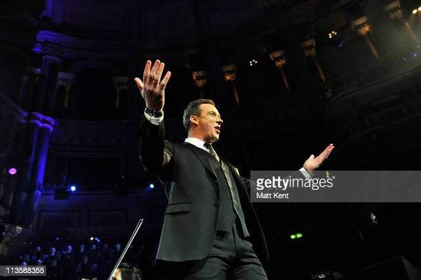 Russell Watson performs at Royal Albert Hall on May 3 2011 in London England