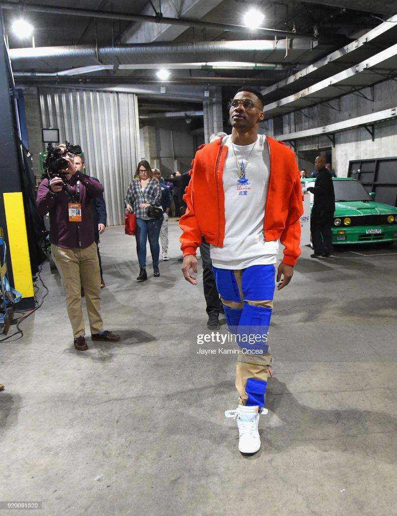 NBA All-Star Game 2018 : Nachrichtenfoto