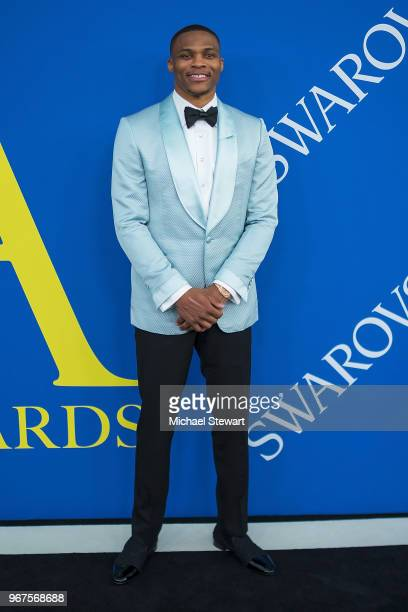 Russell Westbrook attends the 2018 CFDA Fashion Awards at Brooklyn Museum on June 4 2018 in New York City