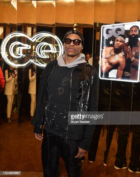 Russell Westbrook attends the GQ March Cover Party at The Standard Highline on March 01 2020 in New York City
