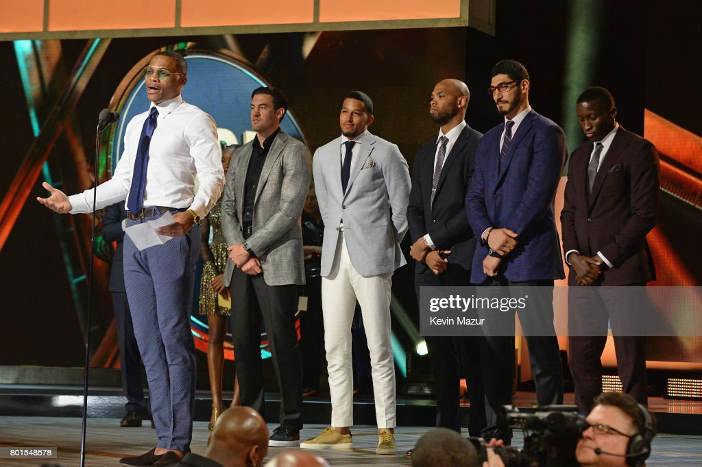 2017 NBA Awards Live On TNT - Inside : News Photo