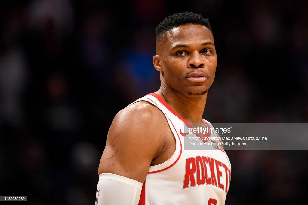 DENVER NUGGETS VS HOUSTON ROCKETS, NBA REGULAR SEASON : Nachrichtenfoto