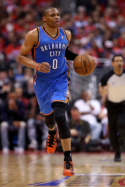 Russell Westbrook of the Oklahoma City Thunder 4
