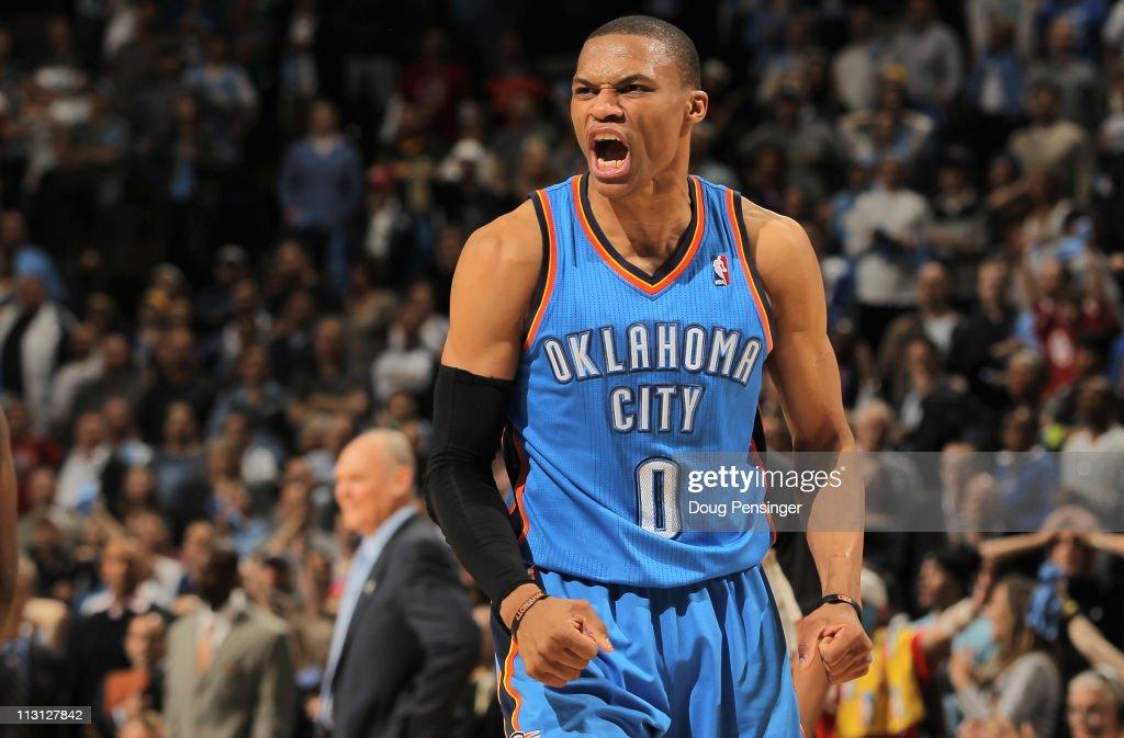Oklahoma City Thunder v Denver Nuggets - Game Three
