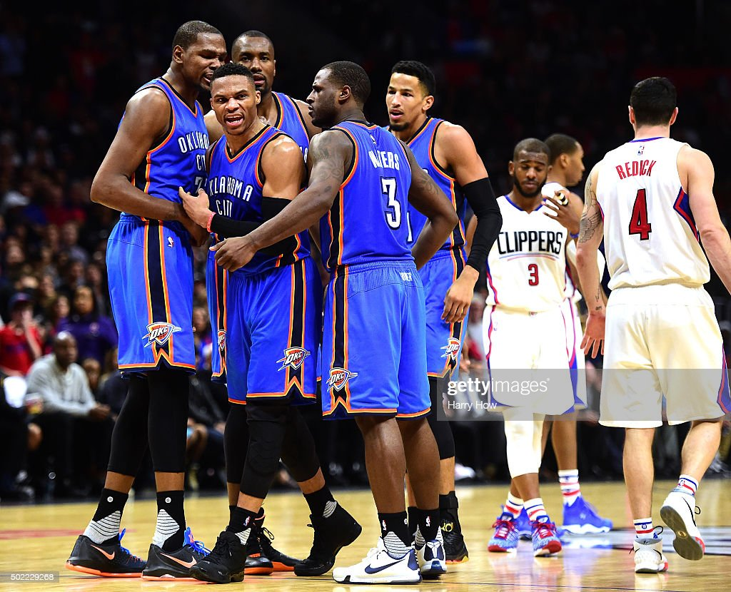 Oklahoma City Thunder v Los Angeles Clippers