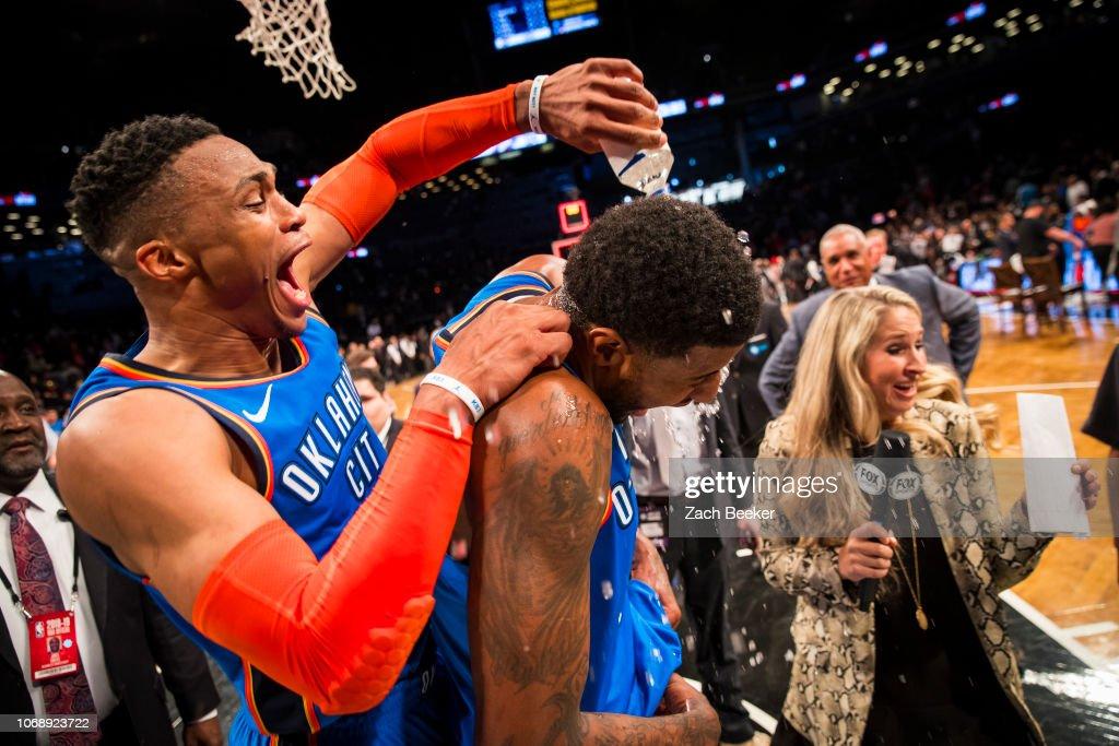 Oklahoma City Thunder v Brooklyn Nets : Nachrichtenfoto