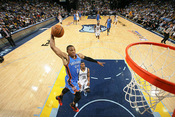Russell Westbrook of the Oklahoma City Thunder 7
