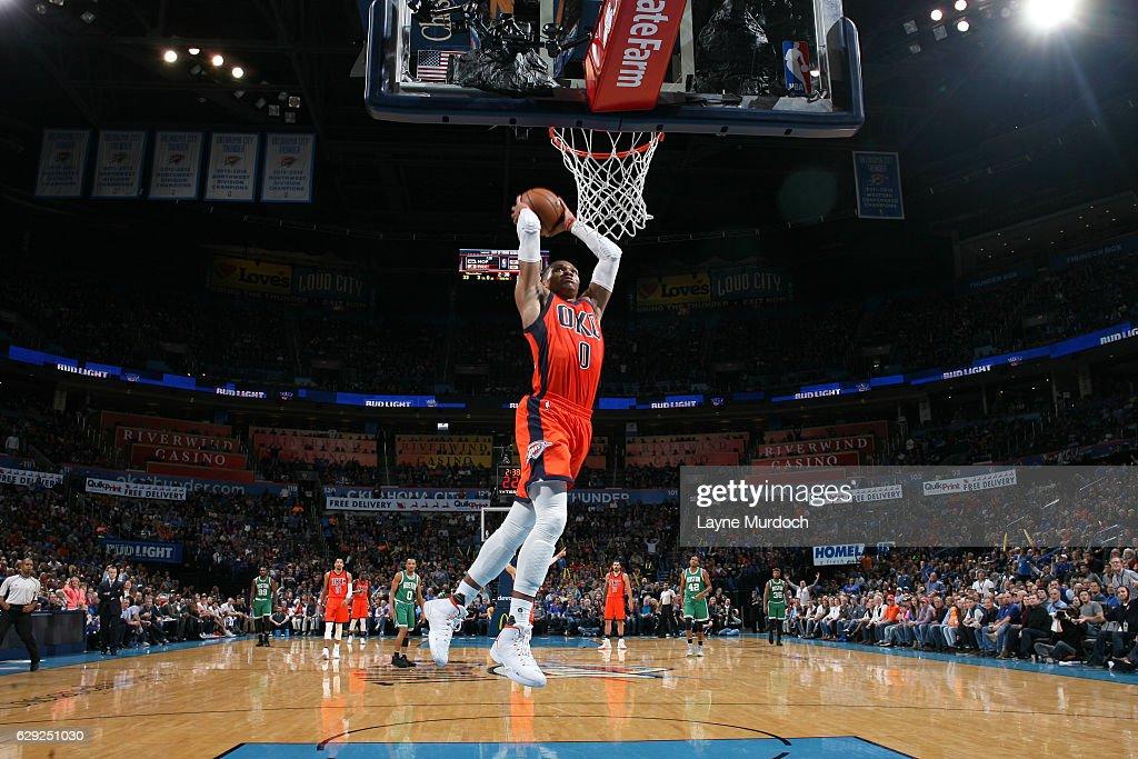 Boston Celtics v Oklahoma City Thunder : Nachrichtenfoto