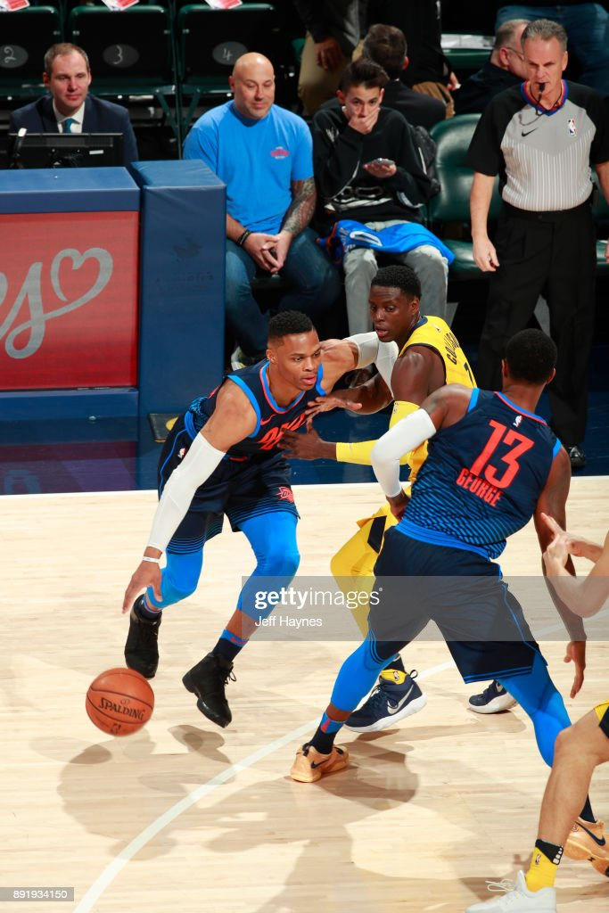 Oklahoma City Thunder v Indiana Pacers