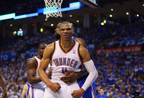 Russell Westbrook of the Oklahoma City Thunder 5