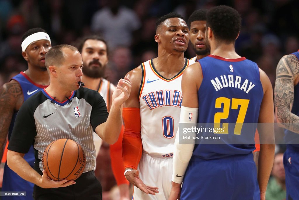 Oklahoma City Thunder v Denver Nuggets : Nachrichtenfoto