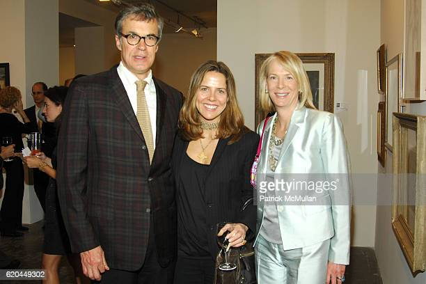 Russell Wilkinson Mary McBride and Leslie Klotz attend NEW YORK ACADEMY OF ART Presents TAKE HOME A NUDE at Phillips De Pury Company on April 16 2008...