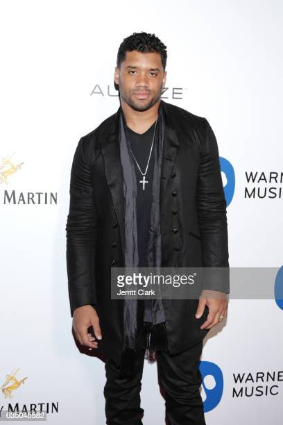 Russell Wilson attends Remy Martin Presents The Warner Music Block Party at Milk Studios on February 12 2017 in Hollywood California
