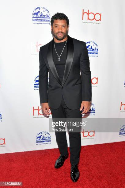 Russell Wilson attends the 2019 Hollywood Beauty Awards at Avalon Hollywood on February 17 2019 in Los Angeles California