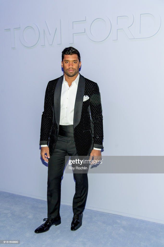 Tom Ford Men's - Arrivals - February 2018 - New York Fashion Week