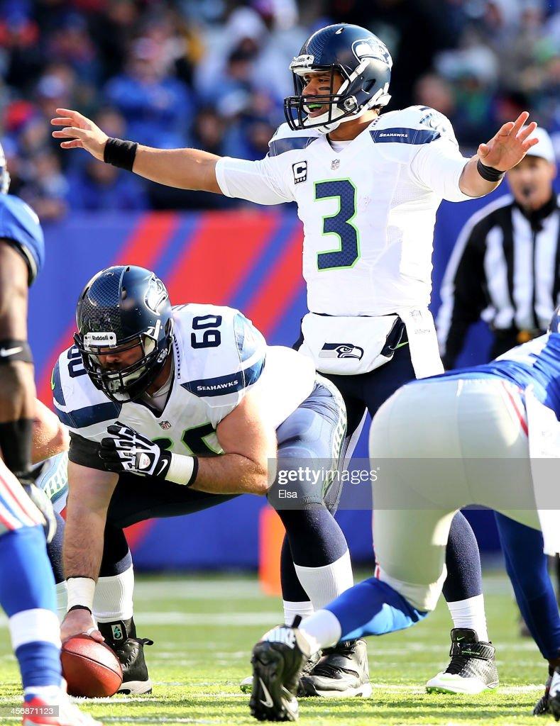 Seattle Seahawks v New York Giants : News Photo