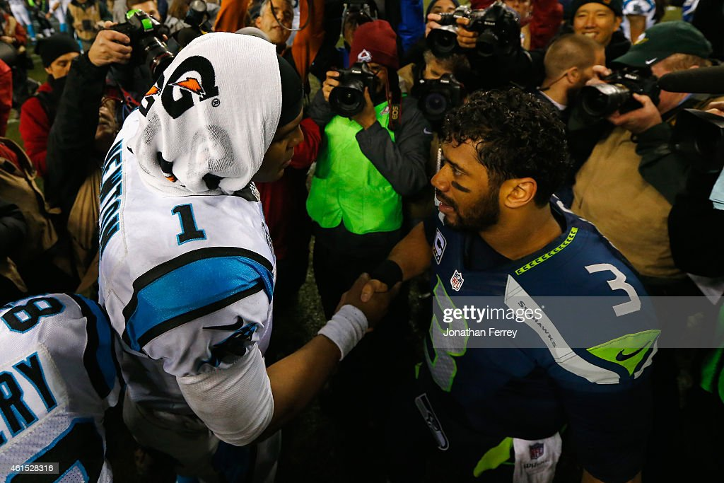 NFC Divisional Playoffs - Carolina Panthers v Seattle Seahawks : News Photo