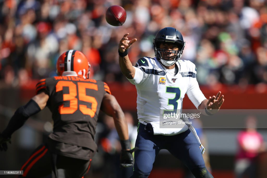 Seattle Seahawks v Cleveland Browns : News Photo