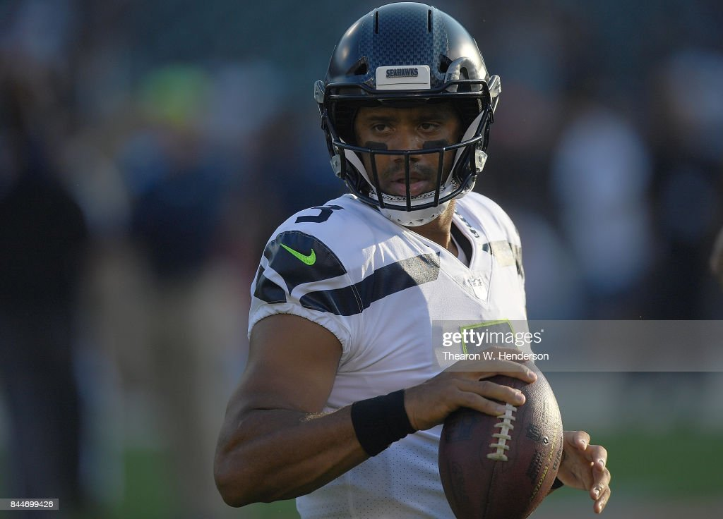 Seattle Seahawks v Oakland Raiders : ニュース写真