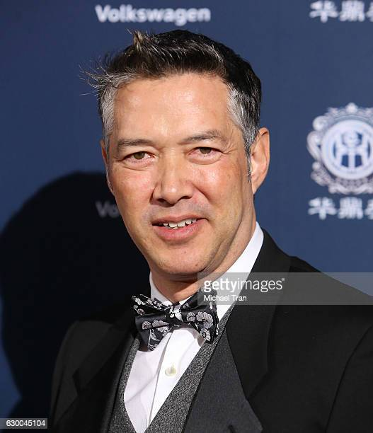 Russell Wong arrives at the 21st Annual Huading Global Film Awards held at The Theatre at Ace Hotel on December 15 2016 in Los Angeles California