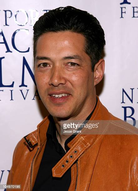Russell Wong during 2006 Newport Beach Film Festival 'Inside Out' Screening at Edward's Island Cinemas in Newport Beach California United States