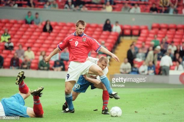 Russia 33 Czech Republic Euro 1996 Group C match at Anfield Liverpool Wednesday 19th June 1996 Pavel Kuka