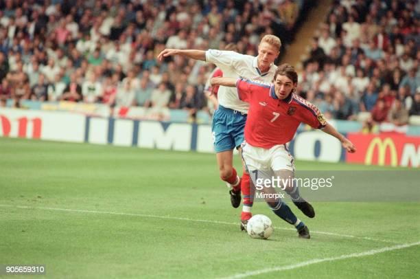 Russia 33 Czech Republic Euro 1996 Group C match at Anfield Liverpool Wednesday 19th June 1996 Jiri Nemec