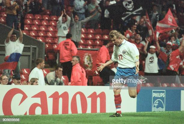 Russia 33 Czech Republic Euro 1996 Group C match at Anfield Liverpool Wednesday 19th June 1996 Vladimir Beschastnykh