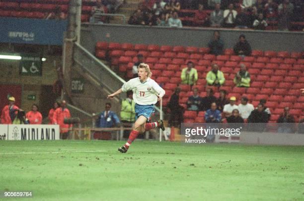 Russia 33 Czech Republic Euro 1996 Group C match at Anfield Liverpool Wednesday 19th June 1996 Vladimir Beschastnykh