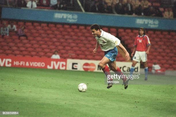 Russia 33 Czech Republic Euro 1996 Group C match at Anfield Liverpool Wednesday 19th June 1996 Yuri Nikiforov