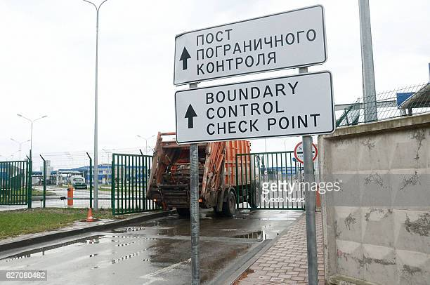 SOCHI Russia A truck heads to Abkhazia a breakaway region of Georgia recognized by Russia as an independent state from Sochi southern Russia on Jan...