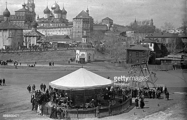 Zagorsk Attractions at the TrinitySergievoj laurels 12 May 1939