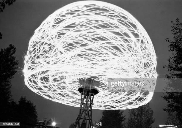 Russia Dalny Vostok Sakha 1970s Radio relay 'Orbita' Yakutia