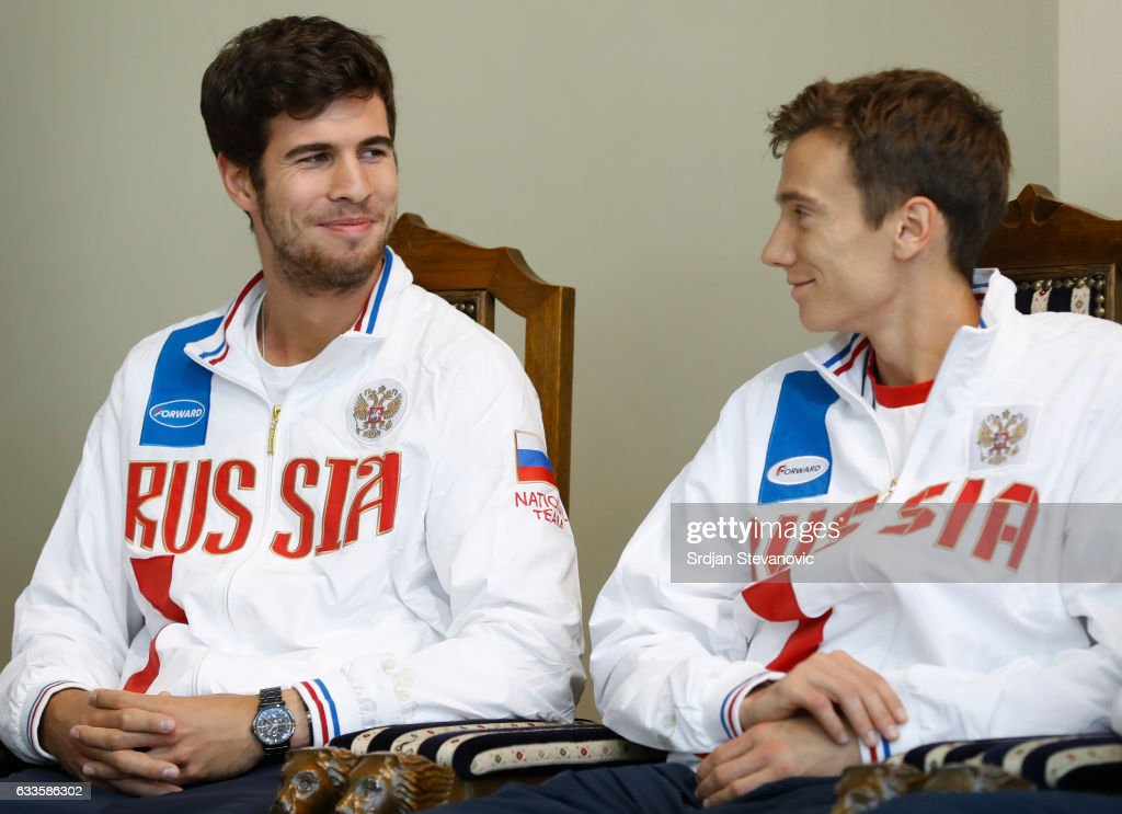 Serbia v Russia: Davis Cup World Group First Round