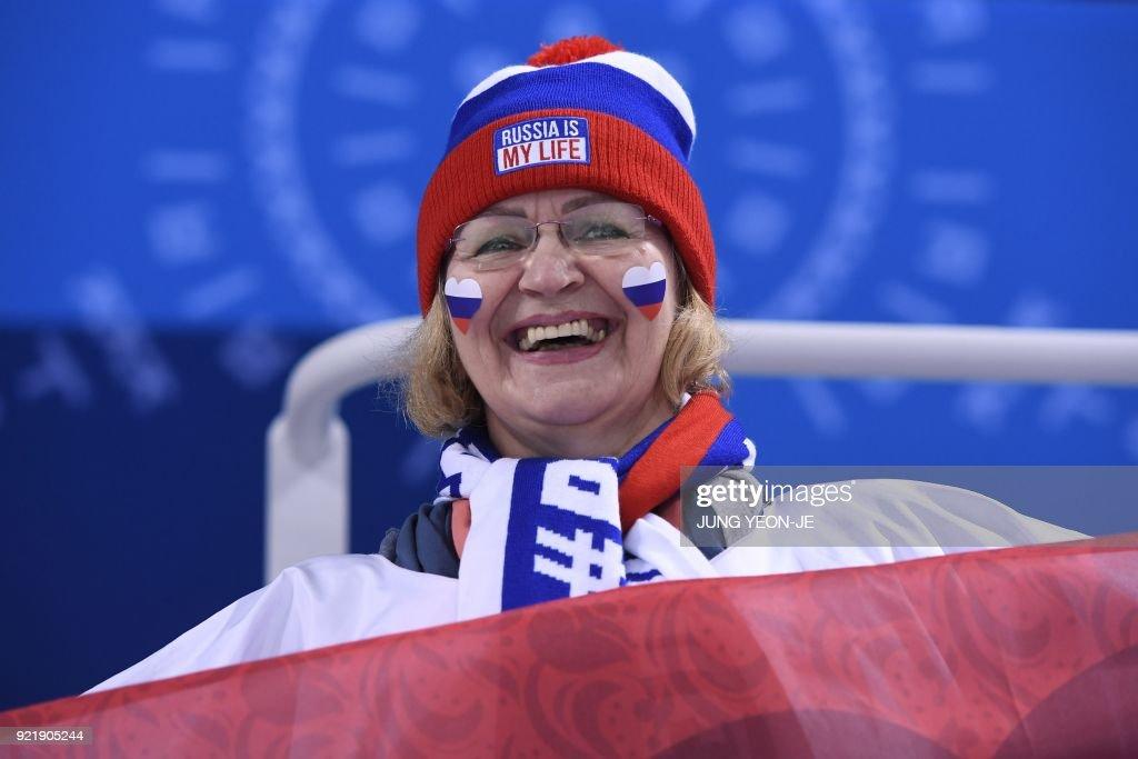 IHOCKEY-OLY-2018-PYEONGCHANG-FIN-RUS : News Photo
