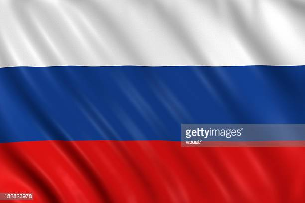 Russland-Flagge