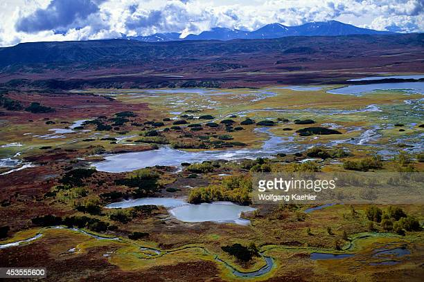 Russia Kamchatka View Of Uzon Caldera Hot Springs
