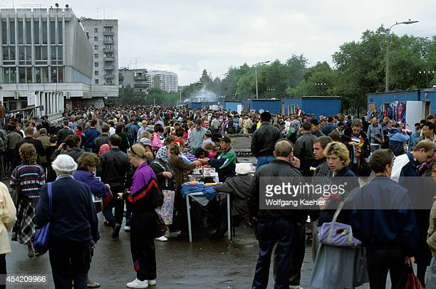 Russia Khabarovsk Market Scene