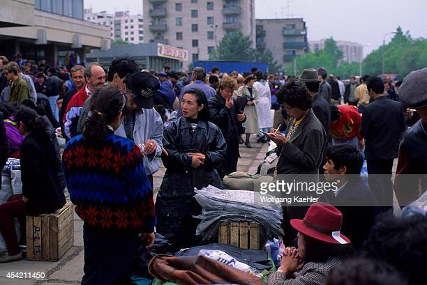Russia Khabarovsk Market With Chinese And Korean Vendors