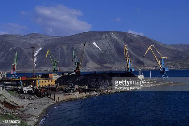 Russia, Magadan Region, Chukotskiy, Provideniya, Port.