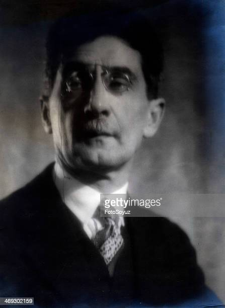 Writer Peter Semenovich Kogan 1927