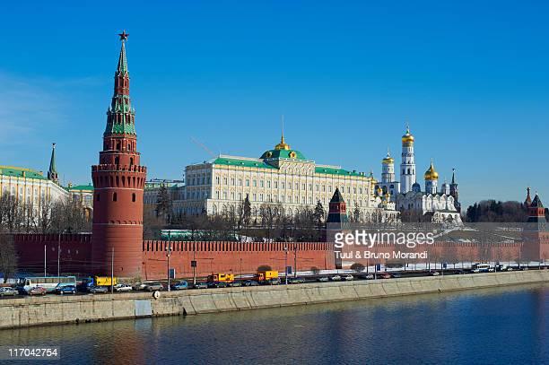 Russia, Moscow, Archangel Michael church, Kremlin