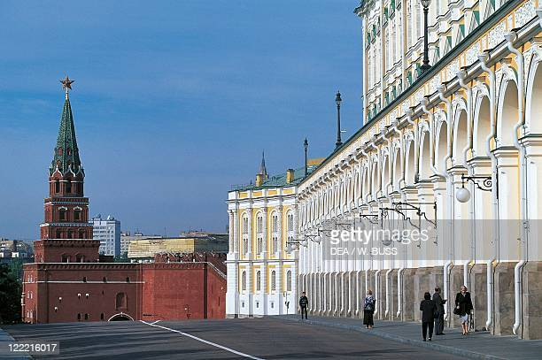 Russia - Moscow. Kremlin . Borovitskaya Tower, 1490.