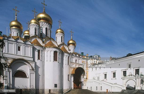 Russia - Moscow. Kremlin . Cathedral of the Annunciation , 1484-1489.