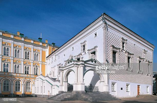 Russia - Moscow. Kremlin . Faceted Palace .