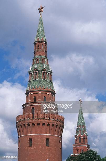 Russia - Moscow. Kremlin . The Water Tower .