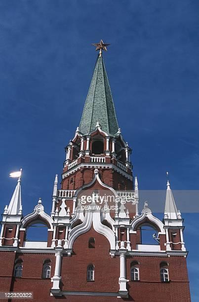 Russia - Moscow. Kremlin . Trinity Tower .